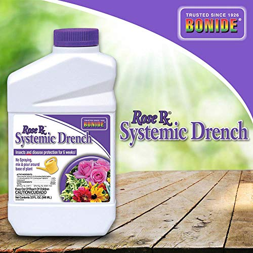Bonide (BND963) - Rose Rx Systemic Drench Concentrate for Disease and Insect Control, Insecticide (1 qt.) (Bayer Advanced Fruit Citrus Vegetable Insect Control Reviews)