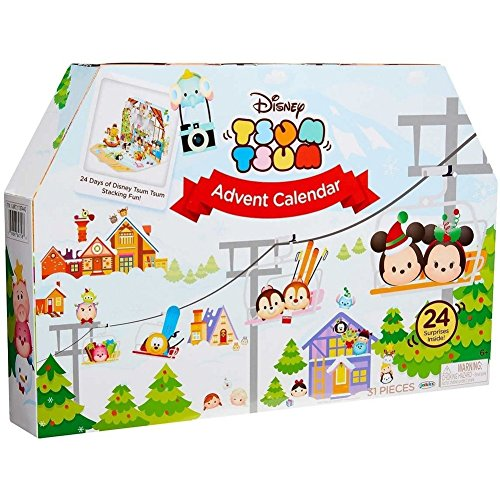 2017 Disney Tsum Tusm Countdown To Christmas Advent Calendar