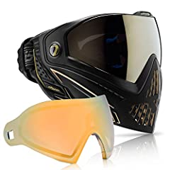 The DYE i5 Goggle The next evolution in the DYE goggle line is also the next evolution in paintball eye and face protection technology. New groundbreaking features like the GSR pro-strap and e.VOKE communication system make the i5 the most ad...