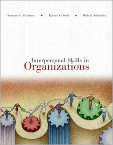 Interpersonal Skills in Organizations by Brand: McGraw-Hill/Irwin