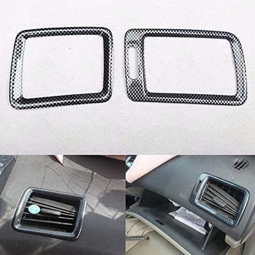 For Honda Civic 8th 2006 2007 2008 2009 2010 2011 LHD Car Dashboard A/C Air Outlet Vent Frame Bezel Car Styling ABS