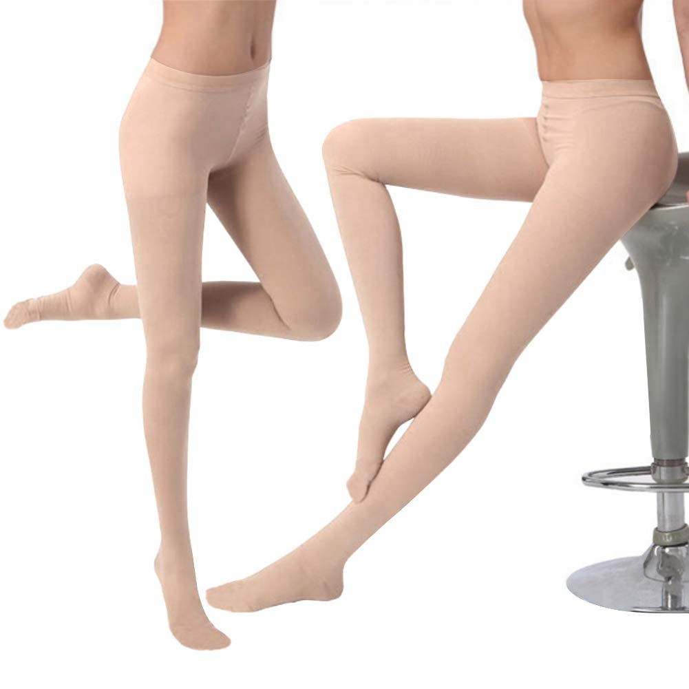 Black M Cycling,Travel,Baseball Compression Stockings,Varicose Veins Socks Thigh High Close Toe Pantyhose Relieve Leg Pain Thin Socks for Swelling,Shaping Leg,Running