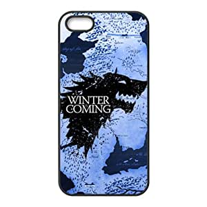 HUAH Creative Winter Coming Brand New And Custom Hard Case Cover Protector For Iphone 5s