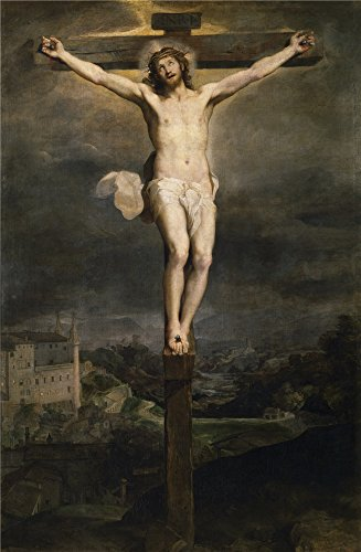 [Polyster Canvas ,the Cheap But High Quality Art Decorative Art Decorative Prints On Canvas Of Oil Painting 'Barocci Federico Christ On The Cross 1604 ', 30 X 46 Inch / 76 X 117 Cm Is Best For Laundry Room Decor And Home Decor And] (Half Doll Half Zombie Costume)