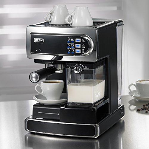 beem germany i joy caf latte cafetera autom tica color gris. Black Bedroom Furniture Sets. Home Design Ideas