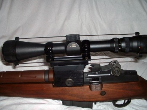 Springfield M1A M14 Rifle Scope Mount (Best Scope Mount For M1 Garand)