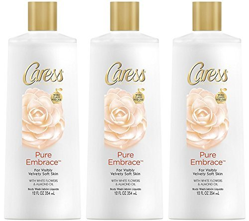 - Caress Body Wash - Pure Embrace - Fine Fragrance - Net Wt. 12 FL OZ (354 mL) Per Bottle - Pack of 3 Bottles