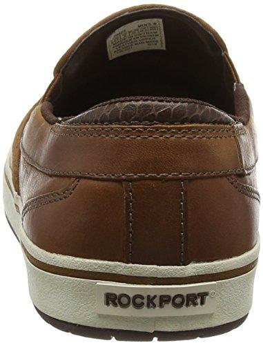 Rockport Path to Greatness Slip on, Mocassins Homme Marron - Marron (Caramel)