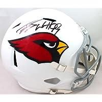 $365 » JJ Watt Autographed Arizona Cardinals Full Size Speed Helmet- JSA Witnessed Auth black