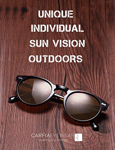 Lente mujer Estilo Carfia gafas gafas Sol viajes UV400 Polarizadas Marco sol de playa Retro para Marrón Gafas Tortuga conducir hombre de IqHqF1