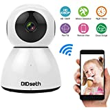 DIDseth 1080P Full HD Wireless Wifi IP Camera, Home Security Surveillance Camera With Two-Way Audio & Night Vision for Baby/Pet Monitor