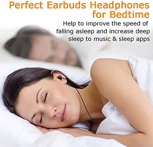 MAXROCK Sleep Earplugs – Noise Isolating Ear Plugs Sleep Earbuds Headphones with Unique Total Soft Silicone Perfect for Insomnia, Side Sleeper, Snoring, Air Travel, Meditation & Relaxation (Black) 51vg3egLuDL
