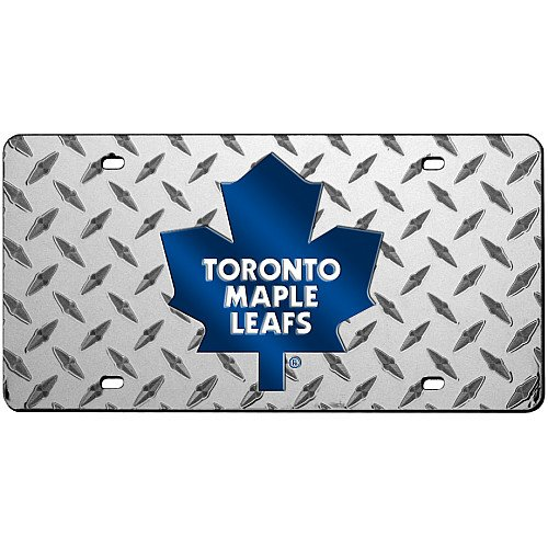 Rico Toronto Maple Leafs Diamond Laser License Plate