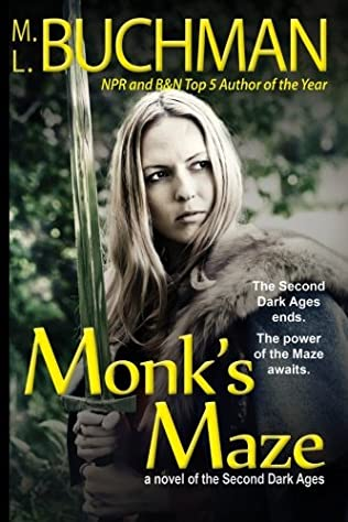 book cover of Monk\'s Maze