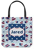 Patriotic Celebration Canvas Tote Bag - Medium - 16''x16'' (Personalized)