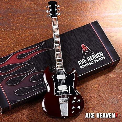 FanMerch Angus Young Signature Thunderstruck - Réplica de Guitarra ...
