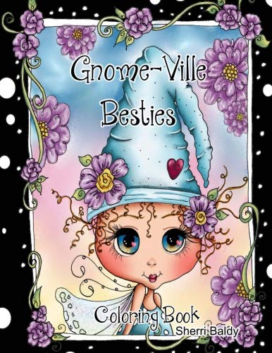 Gnome-ville Besties Coloring Book