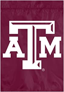 Party Animal NCAA Texas A&M Aggies Unisex Texas A & M Aggies Premium Garden Flag - Window Flag - Indoor/Outdoor Flag, Team Color, 18