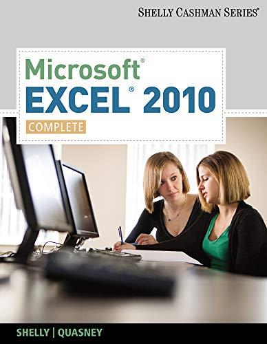 Microsoft Excel 2010: Complete (SAM 2010 Compatible...