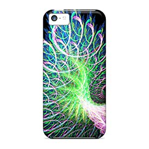 RoccoAnderson Cases Covers Protector Specially Made For Iphone 5c Fractal Feather