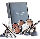 MEDIUM SKIN Mineral Makeup Kit Foundation 14 Piece...