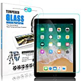iPad 9.7 inch 2018/2017 / iPad Pro 9.7 Screen Protector, Elegant Choise 9H Bubble Free Anti-Fingerprint Tempered Glass Screen Protector for Apple iPad (5th generation) / A1823 / A1822 (1 Pack)