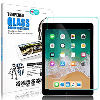 Elegant Choise New iPad 9.7 inch 2018 & 2017 / iPad Pro 9.7 Screen Protector, iPad 5th, 6th Gen, A1823, A1822 Tempered Glass Screen Protector-High Definition Bubble Free Scratch Resistant(1 Pack)