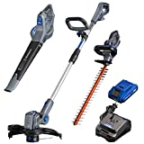 Westinghouse Cordless Hedge Trimmer, Blower and String Trimmer, 2.0 Ah  Battery and Charger Included