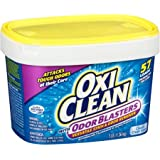 OxiClean Odor Blasters Classic Clean Scent Versatile Stain & Odor Remover Powder, 3 lb 57 Loads