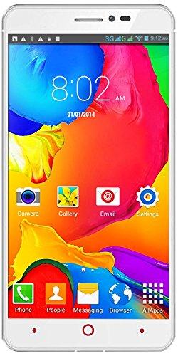 Indigi V13 3G Dual Core Smartphone - Unlocked (White) by inDigi