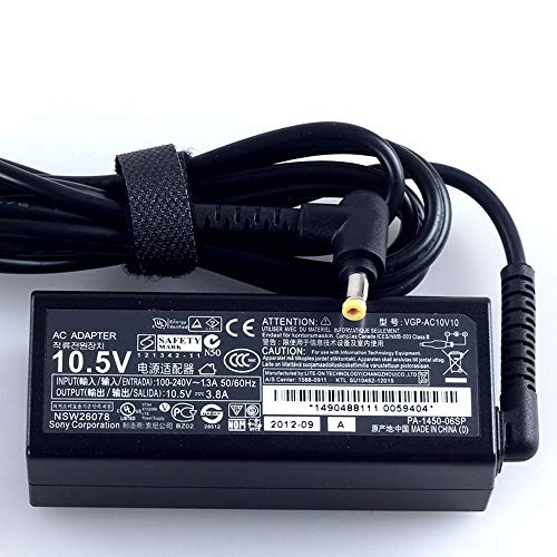 Amazon.com: Genuine AC Adapter Charger for Sony VGP-AC10V10 ...
