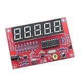 Qjoy DIY Digital LED 1Hz-50MHz Crystal Oscillator Frequency Counter Meter Tester Kit