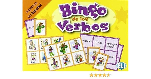 BINGO DE LOS VERBOS (Giochi didattici): Amazon.es: AA.VV.: Libros