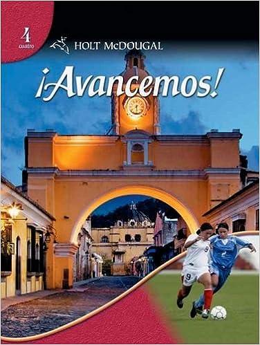 Amazon avancemos level 4 spanish edition 9780554025308 avancemos level 4 spanish edition spanish 1st edition fandeluxe Choice Image