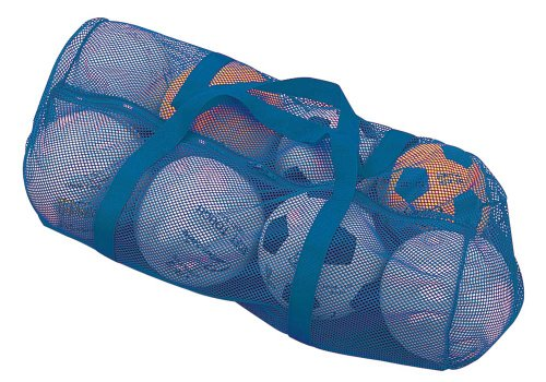 "Champion Sports Mesh Duffle Bag, Royal Blue, 15"" x 36"""