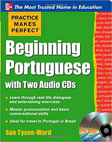 Book Practice Makes Perfect Beginning Portuguese with Two Audio CDs (Practice Makes Perfect (McGraw-Hill))