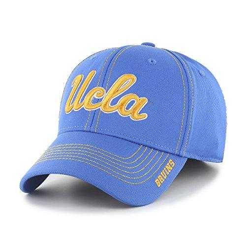 Basketball Bruins Ucla - NCAA UCLA Bruins Adult Start Line Ots Center Stretch Fit Hat, Medium/Large, Blue Raz