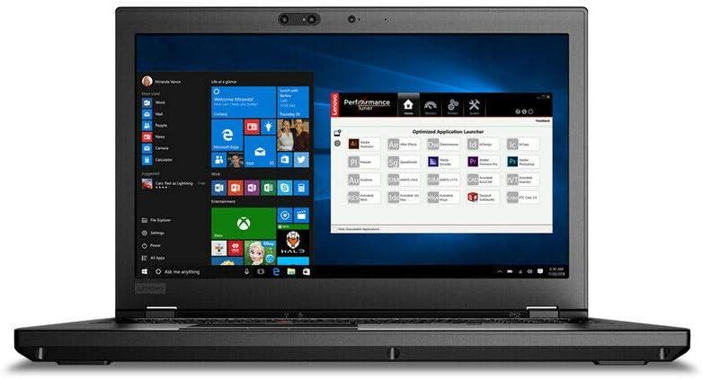 "Lenovo Flagship ThinkPad P52 15.6"" FHD LED Backlight Laptop | Intel Core i7 8750H 6-core | 16GB RAM | 512GB SSD | NVIDIA Quadro P1000 | Fingerprint Reader | USB-C | Webcam | Windows 10 Pro"