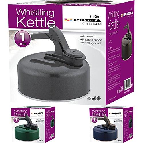 Prima Whistling Kettle Aluminium 1.2L