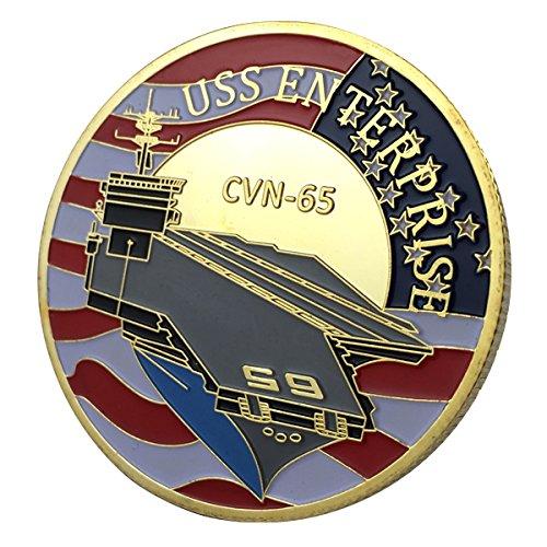 U.S. Navy USS Enterprise / CVN-65 GP Challenge Coin 1135#