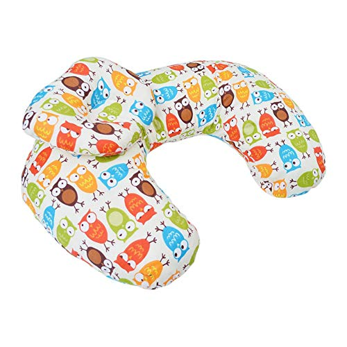 chinatera Baby Nursing Pillow Head Positioner Maternity Baby Breastfeeding Infant Cuddle Pillow U-Shaped Newborn Comfortable Feeding Cotton Waist Cushion