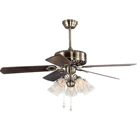 Tatosun Vintage ventilador lámpara de techo Ø126cm ...