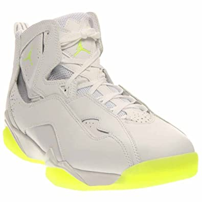 7cf4c1ec0807be Jordan True Flight Men s Shoes White Volt Ice 342964-113 (12 D(