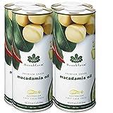 Cheap Brookfarm Natural Macadamia Oil, Premium-Grade 43.3 fl oz (1.25l), 4-Pack