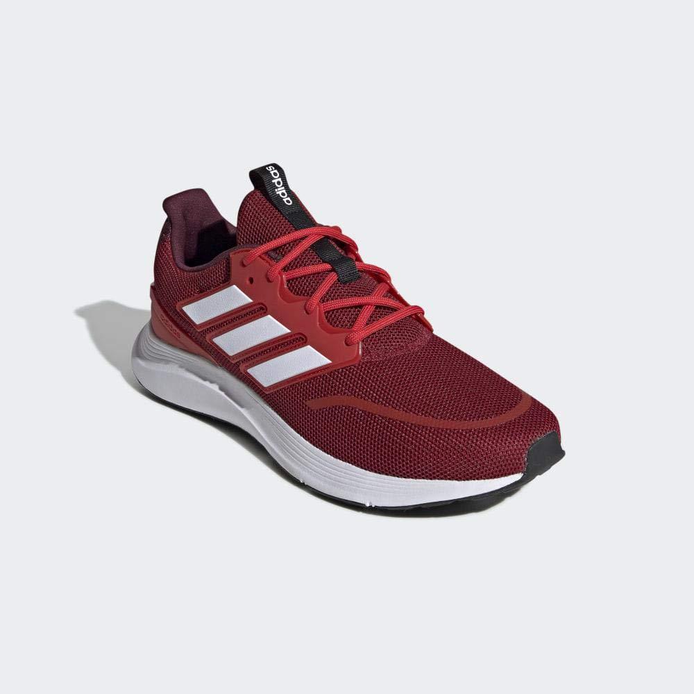 adidas Herren Energyfalcon Laufschuhe Mehrfarbig (Active Maroon/Ftwr White/Active Red Ee9846)