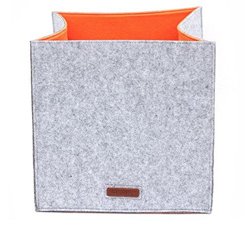 Storage Box Felt dual layer 33x33x33cm (Felt Basket)