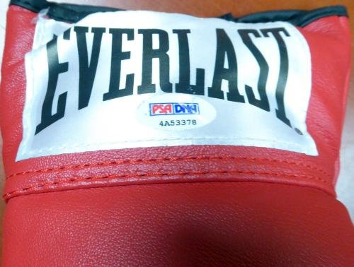 Cassius Clay Muhammad Ali Autographed Signed Everlast Boxing Glove #4A53378 PSA/DNA Certified Autographed Boxing Gloves