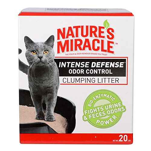 Nature's Miracle Intense Defense Odor Control Clumping Litte