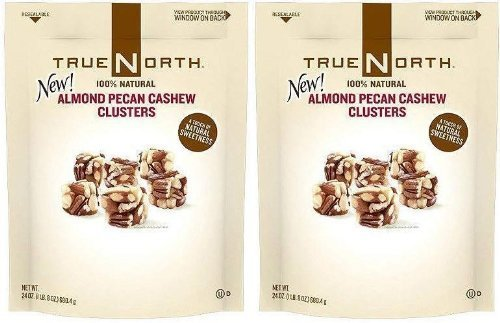 True North Almond Pecan Cashew Clusters - 24 oz. (pack of 6)