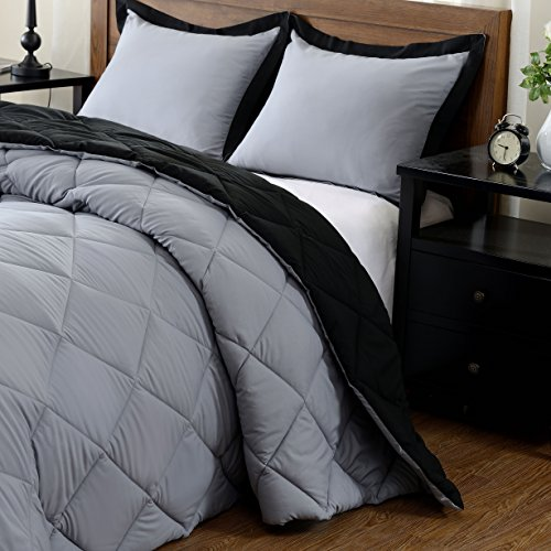 downluxe stream-lined good Comforter Set (King) with